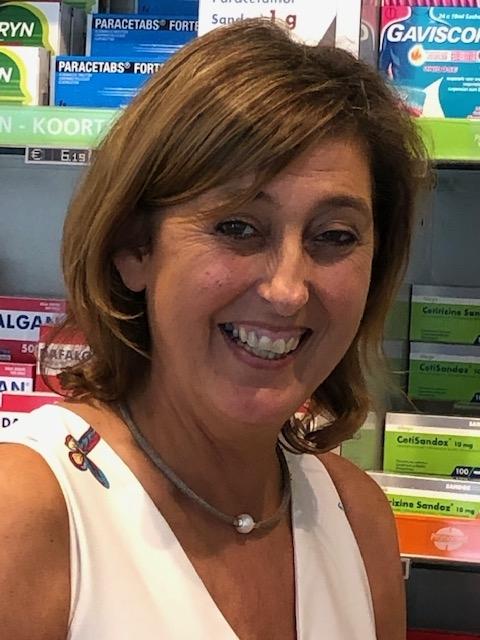 Adjunct-apotheker Carine Debackere